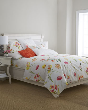 Watercolor Flowers Bedding