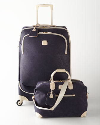 Capri Navy Luggage Collection