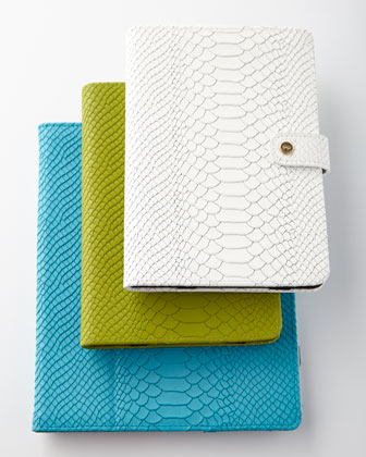 Embossed Python iPad Case
