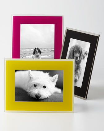 Mia Glass Photo Frames