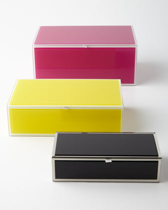 Mia Glass Storage Box & Jewelry Box