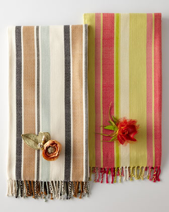 Woven Cotton Throws