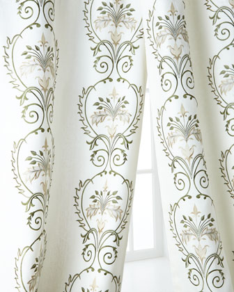Creative Threads Julianne Embroidered Curtains