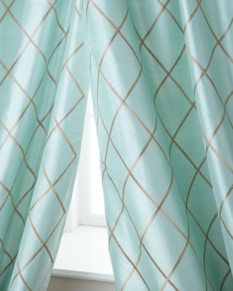 Axiom Silk Curtains
