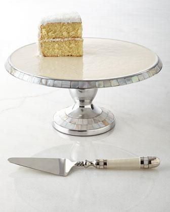 Classic Cake Stand & Server