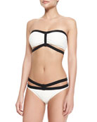 Massai Glamour Bandeau Swim Top & Strappy Bottom