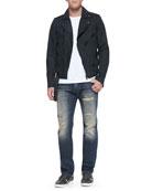 J-SED Asymmetric Front Zip Jacket & Safado 32