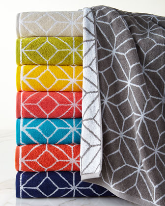 Trellis Towels