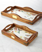 Butterfly Garden Hostess Tray
