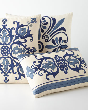 Vanessa Embroidered Pillows