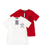 Boys' Short-Sleeve Polo Tee