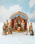 Folk-Art Nativity