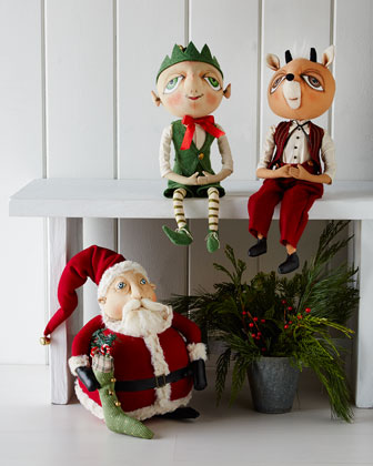Soft-Sculpture Christmas Figures