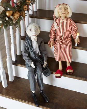 Jacob Marley & Ebenezer Scrooge
