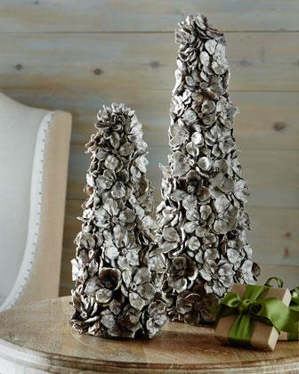 Floral Petal Cone Tree