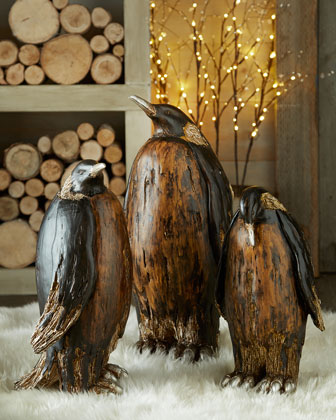 Brown Penguins