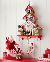 Santa & Mrs. Santa Dolls