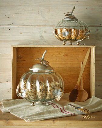 Glass Squash Jars