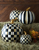 Courtly Check Small Pumpkin
