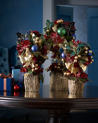Holiday Royale Topiaries