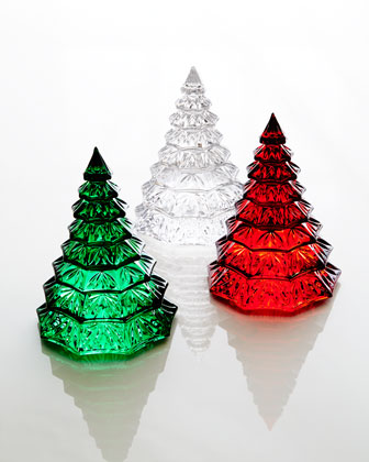 Crystal Christmas Tree Sculptures
