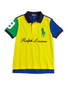 Boys' Mesh Novelty Polo Shirt