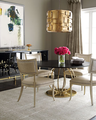 Juno Dining Table & Trinity Dining Chair