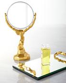 Rock Vanity Mirror and Tray
