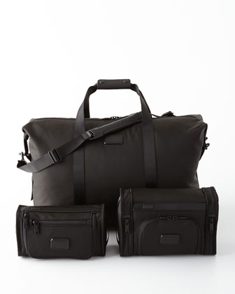 Black Alpha 2 Travel Bags