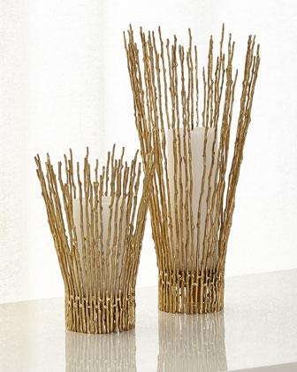 Twig Candleholder