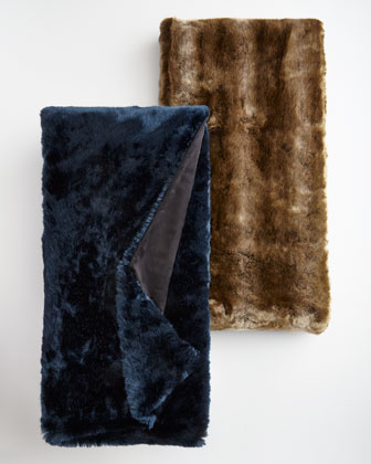 Faux-Fur Throws