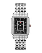 Deco II Diamond Dial Watch Head & 7-Link Bracelet