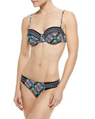 Paloma Coquette Underwire Swim Top, Swim Bottom & Pull-On Beach Pants