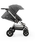 Scoot™ Compact Stroller, Car Seat Adapter for Maxi-Cosi & Nuna, Stroller Parasol, Footmuff for Use Stokke Xplory/Crusi Seat, Stroller Cup Holder & PramPack Stroller Cover for Travel