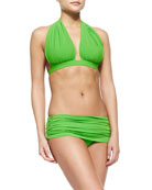 Bill Halter Swim Top & Low-Rise Bottom