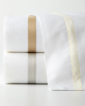 King Solid White Fitted Sheet