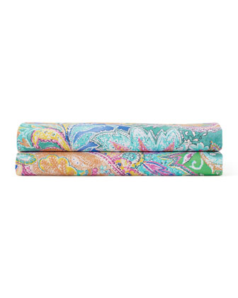 Flying Point Paisley Sheets