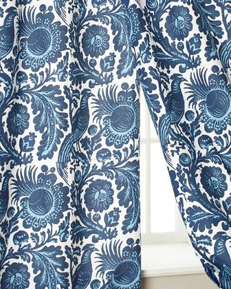 Haveford Bleu Curtains