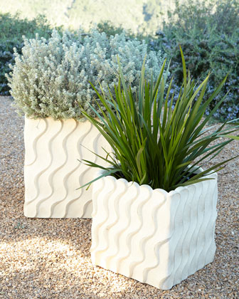 NM EXCLUSIVE Shifting Sands Outdoor Planters