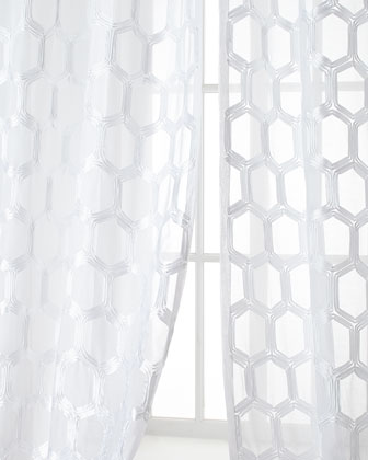 Brochelle Sheer Curtains