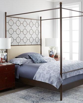 Bradley King Metal Bed