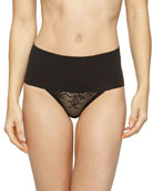 Undie-Tectable® High-Waist Lace Thong
