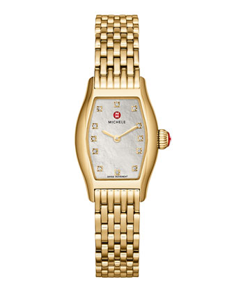Urban Coquette Gold-Plated Watch Head & 12mm Bracelet Strap