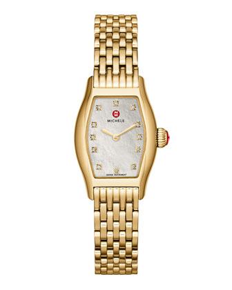 Urban Coquette Gold-Plated Watch Head & 12mm Bracelet Strap