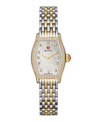 Urban Coquette Diamond Watch Head & Two-Tone Bracelet Strap