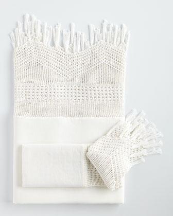 Vintage-Inspired Crochet Sheets