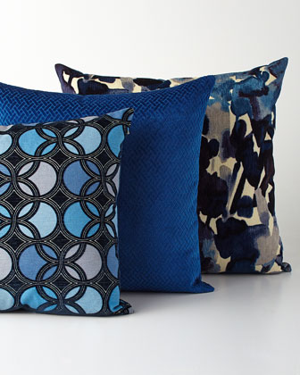 Laguna Blue Pillow