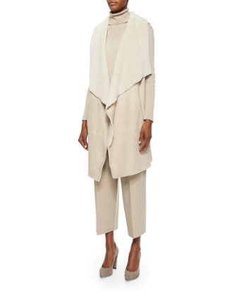 Carolina Lamb Fur Vest, Women's