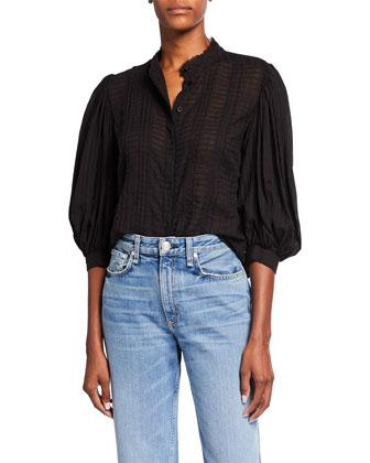 Mid-Rise Bootcut Jeans, LA Dark