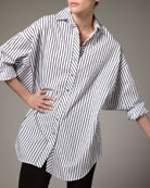 Striped Big Shirt, Women's